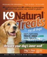 Friandise pour chiens K9 Natural Agneau, 50 g