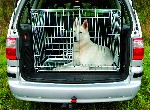 Transportkäfig, verzinkt, Dog on Tour, 116x77x86 cm